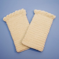 Handwarmers from Finnish Stitch 3+3 Stitch done with Imperial Yarns Tracie Too sport weight.