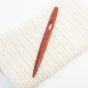 Wood: Red Heart Nalbinding Needle