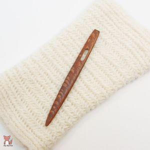 Wood: Leopard Wood Nalbinding Needle